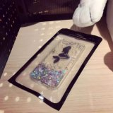 Nuevo Arrival Glitter Mermaid Bling Liquid Quicksand Caso para iPhone6