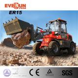 Everunのブランド1.6トンの小型車輪のローダーの熱い販売2015の新しい機械