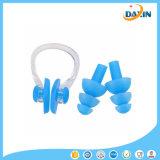 Clips de nez de plongée de natation + 2 sports aquatiques d'accessoires de fiches d'oreille