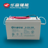 12V100ah Storage Use Solar Conduzem-Acid Battery