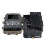 16MP 1080P IRの夜間視界の動きによって作動する保安用カメラ
