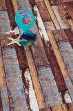 Suelo laminado laminado de madera de madera del arce del roble del entarimado HDF AC3
