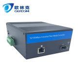 convertitore duplex di media della fibra con l'alimentazione elettrica esterna di PoE 10/100Mbps