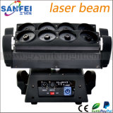 Головное освещение спайдера лазерного луча головок RGB 8 диско Moving