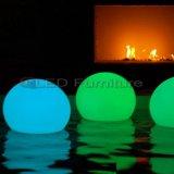 Водоустойчивый свет перезаряжаемые и RGB СИД шарика света случая