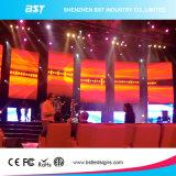 Alta pared video de interior a todo color del alquiler LED del contraste P3 SMD2121 con el regulador de Linsn