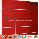 Competitive Price를 가진 Ideabond Wall Decorative Panel High Gloss Aluminum Sandwich Panel