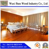 Suelo de madera de bambú tejido de la correa para el hogar