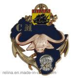 2016 kundenspezifische Metallsport-Laufring-Seitentriebs-Medaille mit Farbband für Andenken