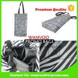 Logo estampé en nylon durable respectueux de l'environnement de sac d'emballage d'achats de polyester