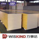 Material de construcción de la espuma de las lanas del panel de emparedado de la conservación en cámara frigorífica PU/EPS/Rock