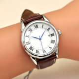 恋人HlBg106のための新式の水晶方法ステンレス鋼の腕時計