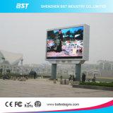 광고를 위한 옥외 광고 발광 다이오드 표시 비디오 선반 P10, 6500 CD/M2