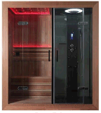 Stanza personalizzata di Right o di Left Side Sauna Steam con Shower