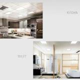 Leistungsfähige energiesparende kühle weiße doppelte Farben-Quadrat-Instrumententafel-Leuchte