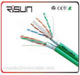 Cable del alto rendimiento Sf/UTP CAT6 (blindaje de la trenza y de la hoja)