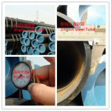 ASTM A106 Seamless Steel Pipe con Blac Painting