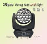 19PCS 12W 4 in 1 LED-beweglichem Hauptstadiums-Wäsche-Licht (A19-12)