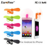 最も新しいデザインiPhoneのアンドロイドの携帯電話のための適用範囲が広い小型USBのファン