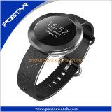 Berühmter Marken-runder Vorwahlknopf-intelligente Uhr mit Swatchful Silikon-Band