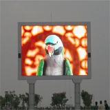 Painel de indicador ao ar livre do diodo emissor de luz da cor cheia P8 para o anúncio video