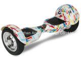 Handlessスマートな形の高品質の自己のバランスの小型電気粗紡機のスクーター