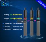 2015 cigarette électronique de la MOI deux rechargeables réutilisables de qualité