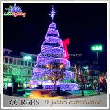 熱い販売法3DのきらめきLEDの螺線形のクリスマスツリー