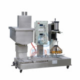 Capping를 가진 Paint를 위한 2 Heads Automatic Filling Machine