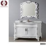 Gabinete de banheiro sanitário dos mercadorias da madeira contínua da mobília do quarto (B8057)