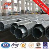 Q235 Q345b achteckige Stahlpole Leistung Pole