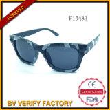 F15483 New Design Plastic Sunglasses mit Cammo Color