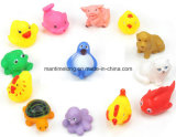 Lovely en plastique Animals Toys Squeeze Sound pour Baby Bathing