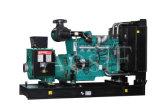 Groupe électrogène de moteur diesel de Cummins de rendement industriel d'Aosif 50Hz 300kw et d'alternateur de Leory Somer