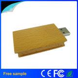 De aangepaste Aandrijving van de Flits van het Boek USB van het Embleem 8GB Houten