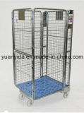 Plastic BaseのよいSale Nestable Zinc Plated Roll Pallet