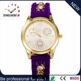 Montre de silicone Hot Sale en vente en 2016 pour les femmes qui se déplace avec montre bracelet en silicone diamant (DC652)