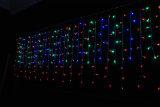 Luz ao ar livre da decoração do sincelo do Natal do diodo emissor de luz