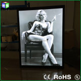 A0-A4 Light Box met LED Photo Frame voor Wall Mounted Sign