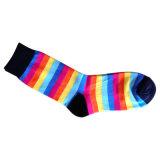 Frauen arbeiten normale Socken mit Baumwolle und Spandex um (wfc-02)