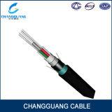Câble fibre optique aérien GYTA53 de faisceau du temps système 6 d'approvisionnement d'usine