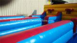 3車線Inflatable Bungee Run、Bungee Running
