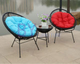 Mobilia semplice Three-Piece del giardino di svago del balcone
