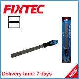"""A mão de Fixtec utiliza ferramentas o arquivo de madeira liso de 8 """" 200mm"""