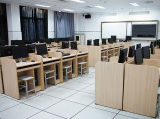 Poste de travail moderne de bureau avec le Module/bureau latéraux (OD-35)