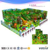 Campo da giuoco molle dell'interno di tema della giungla per i giochi di bambini