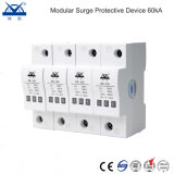 40KA modular 380V trifásica Power Surge Protector 4p