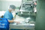 Petits conteneurs ronds de secteur de papier d'aluminium pour la restauration