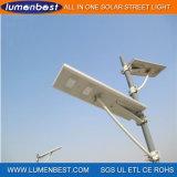 熱い販売統合された太陽LEDの街灯12W