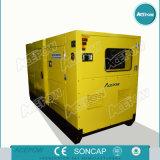 Трехфазный генератор 10kVA Weichai 50Hz молчком тепловозный - 150kVA